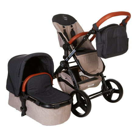 Charcoal Denim Deluxe Stroller System - Limited -