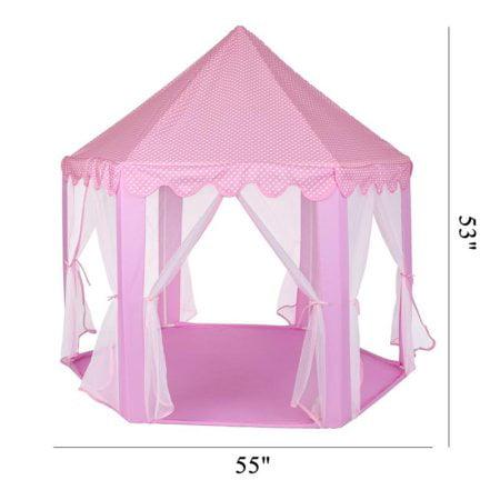 Greensen Princess Castle Play Tent Kids Girls Play Tent