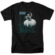 Miami Vice Looking Out Mens Short Sleeve Shirt