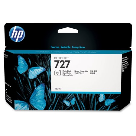 HP 727 - dye-based photo black - original - ink cartridge