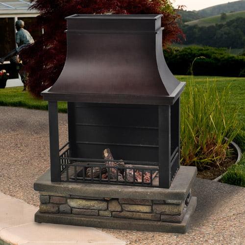 Cheyenne Outdoor LP Gas Fireplace Walmart