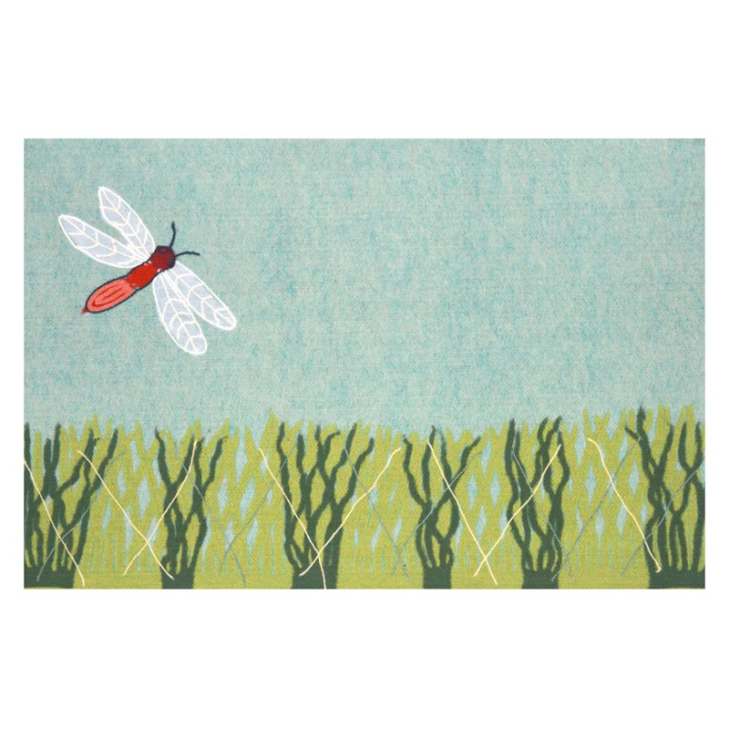 Liora Manne Visions IV Dragonfly Doormat by Supplier Generic