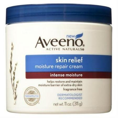 Aveeno Active Naturals peau Relief Crème Réparatrice humidité, Intense humidité 11 oz (Pack de 6)