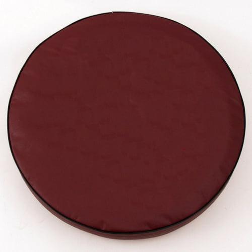 Tire Cover by Holland Bar Stool - Plain Burgundy, 32.25'' x 12''