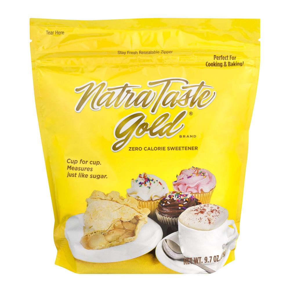 Natra Taste Gold Zero Calorie Sweetener, 9.7 OZ