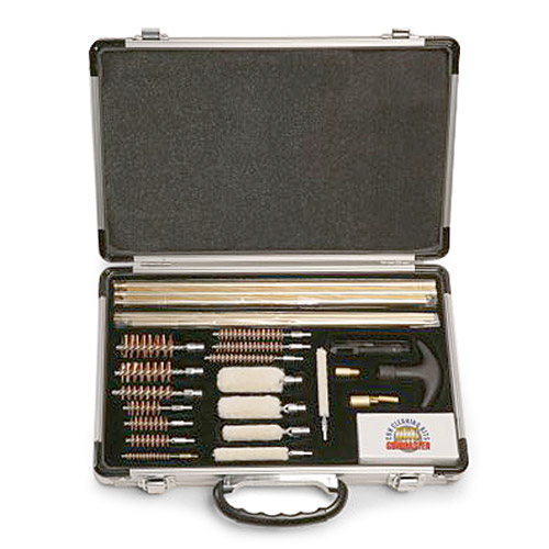 Gun Master 27-Piece Universal Gun Cleaning Kit with Aluminum Case