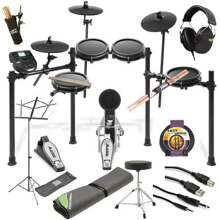Alesis Nitro Mesh Electronic Drum Set DRUM ESSENTIALS TOP VALUE - Yamaha Electronic Drum