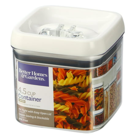 Collection Square Storage (Better Homes & Gardens Flip-Tite Square Container, 4.5 Cups )