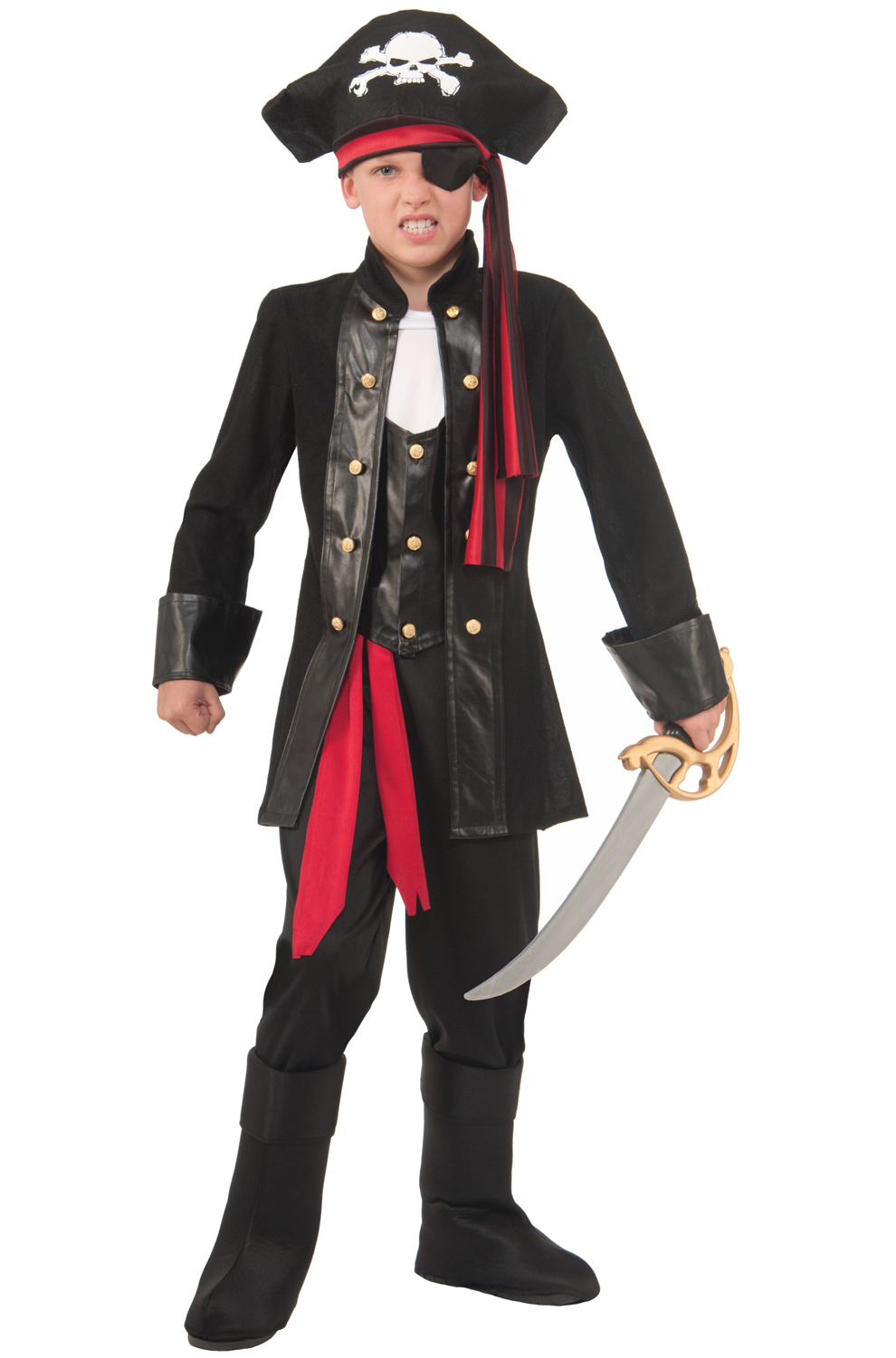 Seven Seas Pirate Child Costume (M) by Forum Novelties