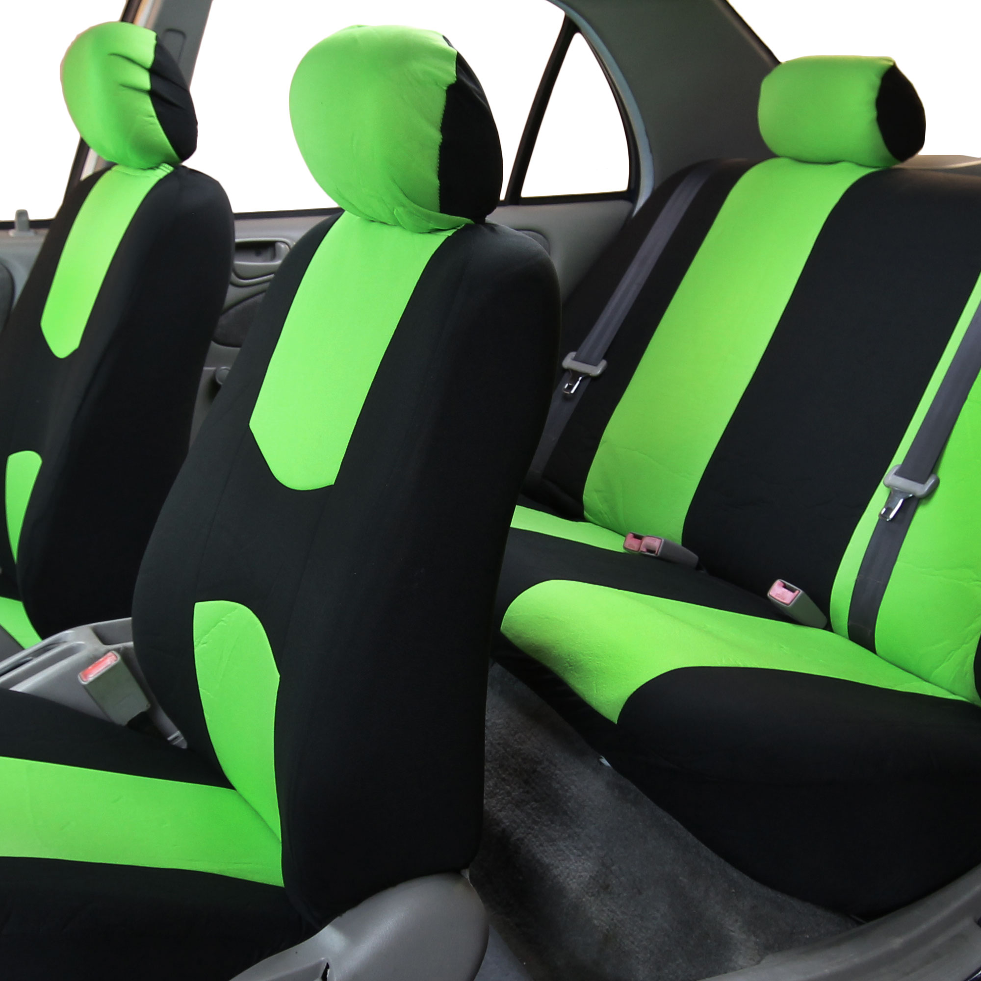 Prime Fh Group Universal Flat Cloth Fabric Full Set Car Seat Cover Cjindustries Chair Design For Home Cjindustriesco