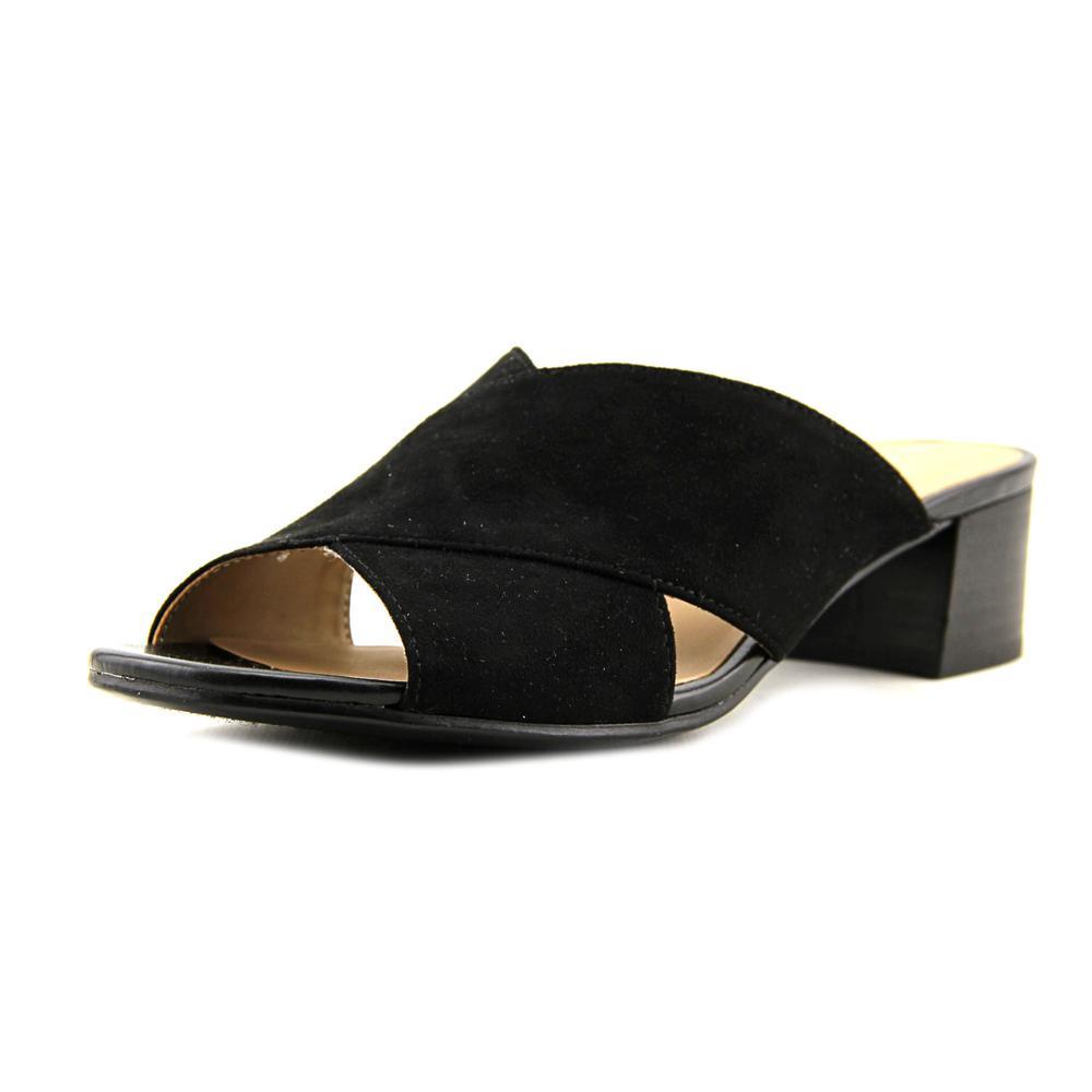 Naturalizer Arielle Open Toe Canvas Slides Sandal by Naturalizer