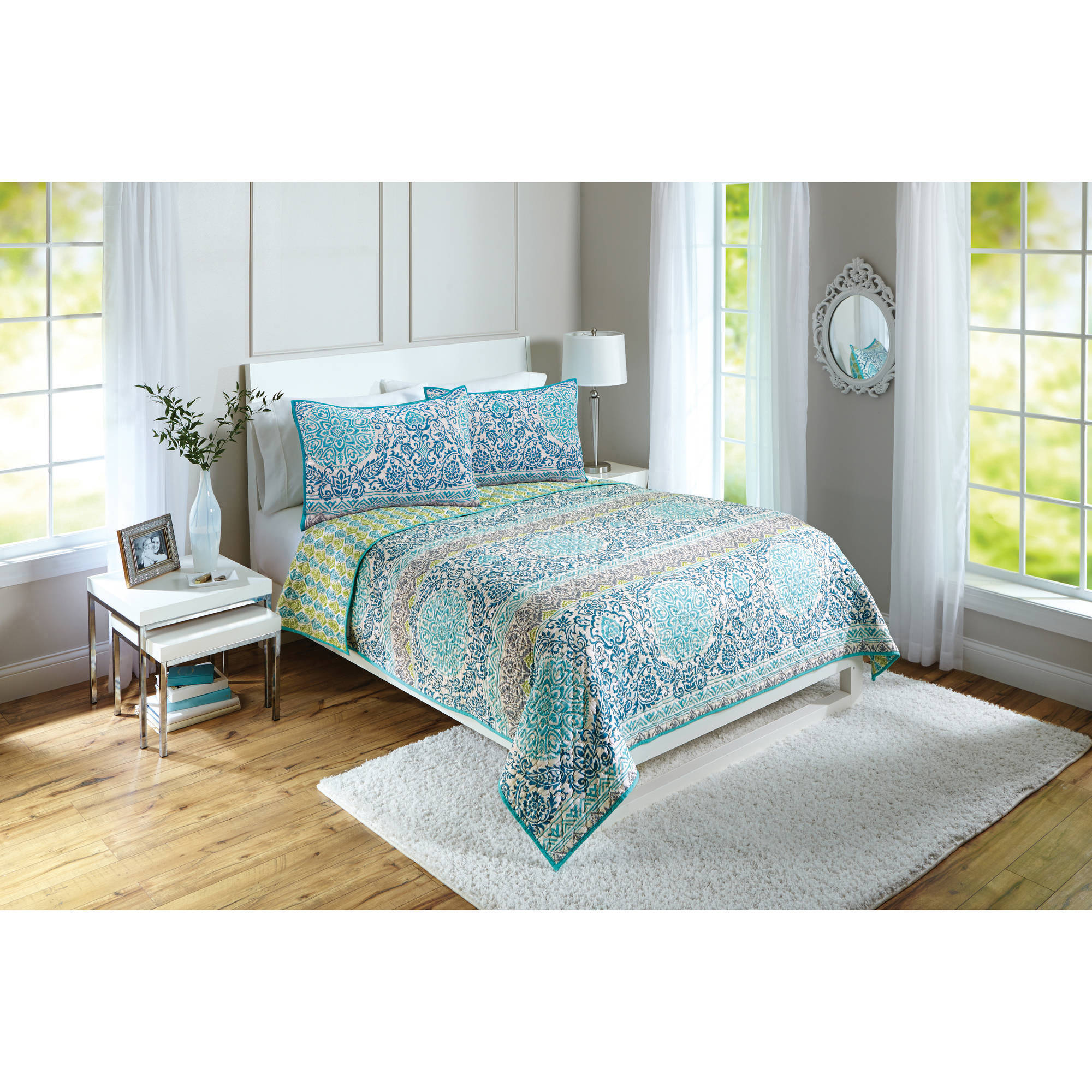 Better Homes and Gardens Layered Medallion Quilt Walmartcom