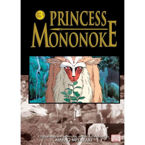 Princess Mononoke Film Comic 3