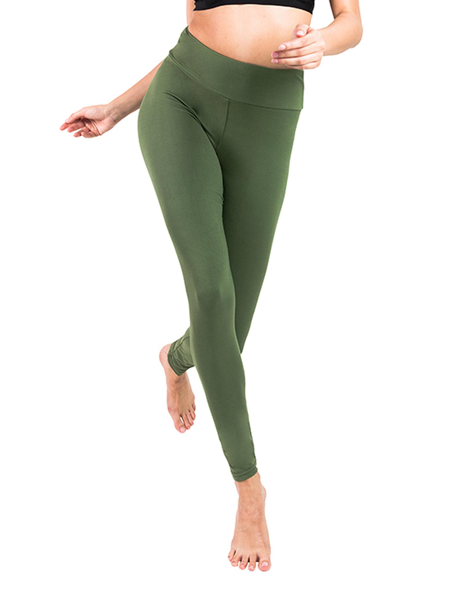 Women Sports Pants High Waist Yoga Running Workout Gym Capri Trousers Stretch