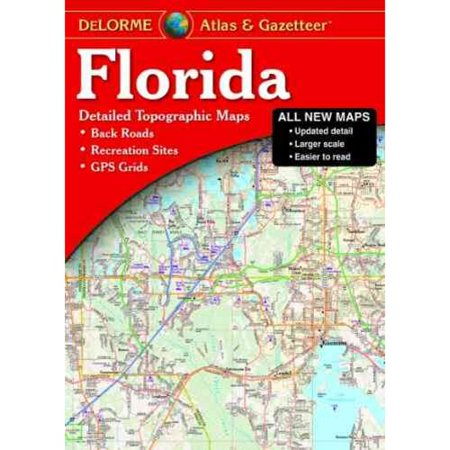 Delorme Atlas   Gazetteer Florida