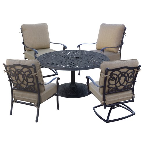 Astoria Grand Dolby 5 Piece Conversation Set with Cushions