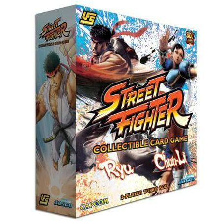 Street Fighter 2 Player Turbo Box - Ryu vs Chun-Li