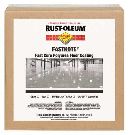 Rust-Oleum Floor Coating, Safety Yellow 277498