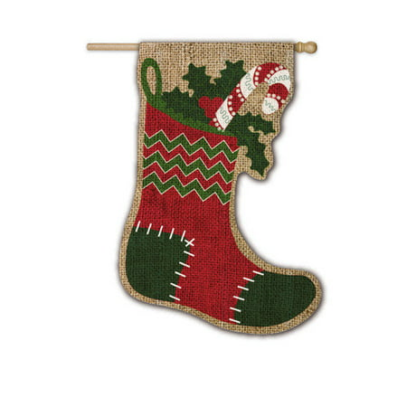 Evergreen Flag & Garden Stocking Vertical Flag