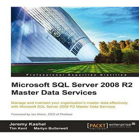 Microsoft SQL Server 2008 R2 Master Data Services - (Sql Server 2008 R2 Service Pack 4)
