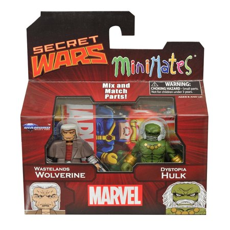 Incredible Hulk 1 For Sale (Marvel Secret Wars-Wastelands Wolverine & Dystopia Hulk, It's an all-new series of Marvel Minimates! By)
