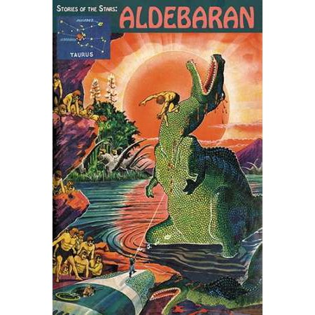 Retrosci-fi Stories of the StarsAldebaran Poster Print by Frank R