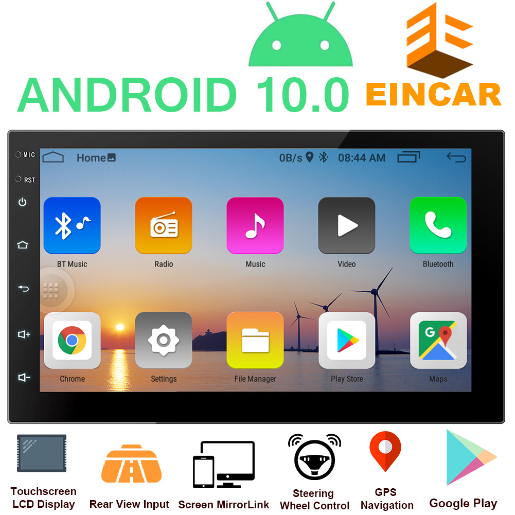 EinCar Android 10 Touch Screen Stereo