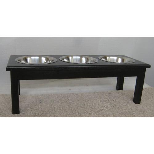 Classic Pet Beds 3 Bowl Pet Diner