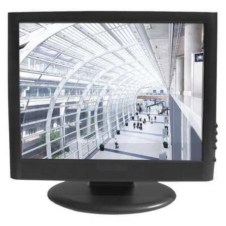 Tatung TME17 CCTV Monitor, Black, 120 to 240VAC, 17 in.