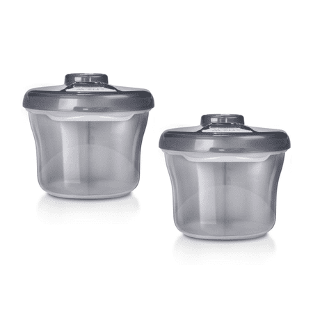 (2 Pack) Philips Avent Formula Dispenser & Snack Cup, Gray