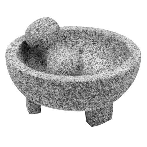 "IMUSA USA 6"" Granite Molcajete with Pestle"