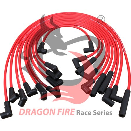 Chevrolet Caprice Cornering Light (New Dragon Fire High Performance HEI Spark Plug Wire Set For 1987-1995 Chevrolet Chevy Camaro Caprice Pontiac Firebird And More GM 305 350 Engines 12073969 Oem Fit)
