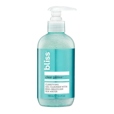 Bliss Clear Genius™ Gel Salicylic Facial Cleanser, Normal to Breakout-Prone Skin, 6.4 fl oz