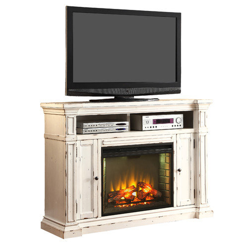 Legends Furniture New Castle TV Stand with Electric ...