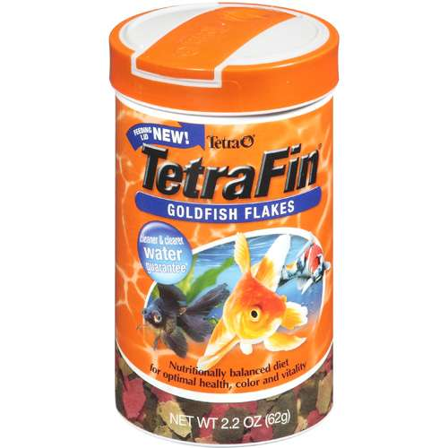 Tetra: Tetrafin Goldfish Flakes Fish Food, 2.2 Oz