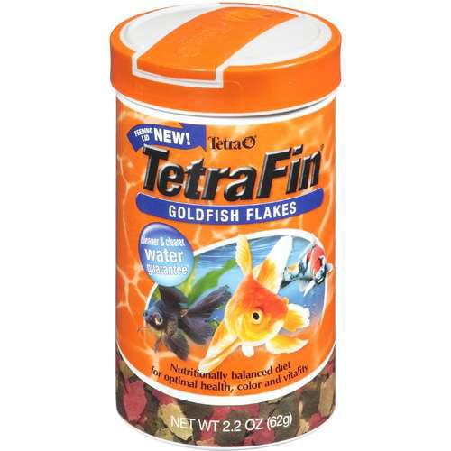 Tetra: Tetrafin Goldfish Flakes Fish Food, 2.2 Oz