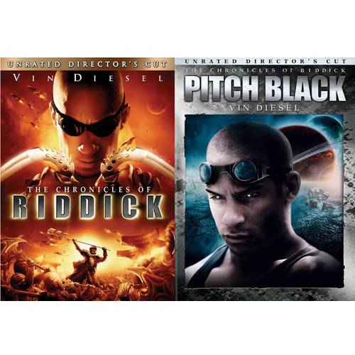 Chronicles Of Riddick (Unrated Director's Cut) / Pitch Black (Unrated Director's Cut) (Walmart Exclusive) (Anamorphic Widescreen)