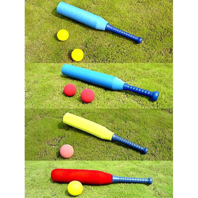 Everrich EVV-0008 PE Foam Small Baseball Set 2 x 89 Millimeter Foam Balls by Everrich Industries Inc
