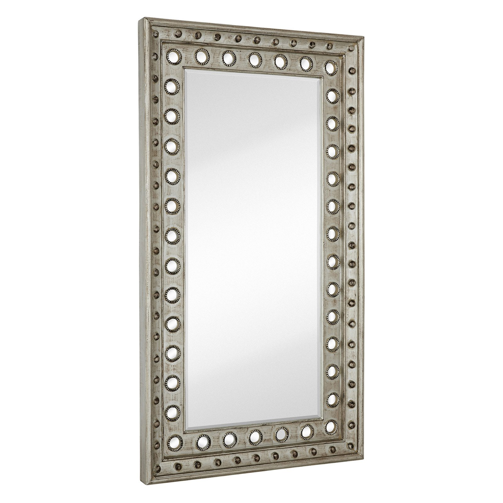Majestic Huge Rectangular Beveled Glass Decorative Wall Mirror