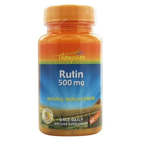 Thompson - Rutin Natural Bioflavonoid 500 mg. - 60 (Bioflavonoid Supplement)