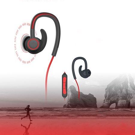 New Ear-Hook Sports Bluetooth Headphones,  Best Wireless Sports Earphones with Mic,  Waterproof, HD Sound with Bass, Noise