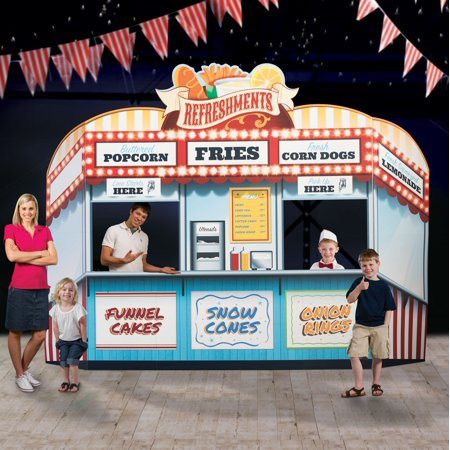 9 ft. 3 in. Carnival Spectacular Food Stand](Carnival Stand)