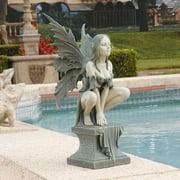 Design Toscano Celtic Fairys Perilous Perch Garden Statue
