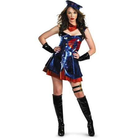 GI Joe Cobra Sassy Adult Halloween Costume](Halloween Joe Clear The Way)