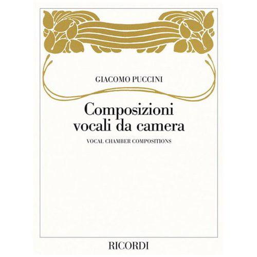 Giacomo Puccini -: Vocal Chamber Compositions/composizioni Vocali Da Camera