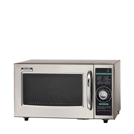 Sharp R21LCF Commercial Professional Microwave Oven, Digital