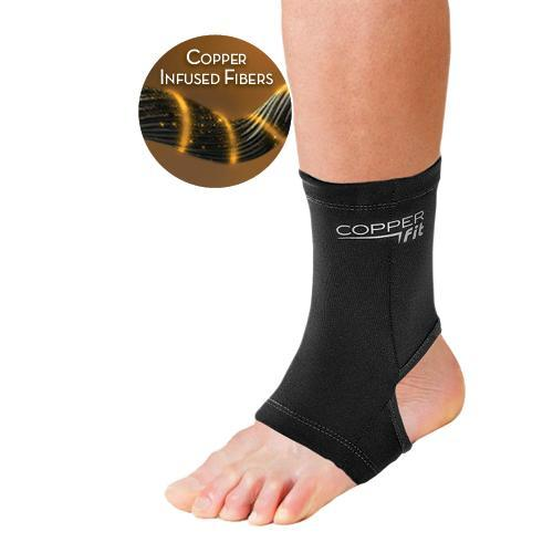 Large Copper Fit Origincal Recovery Ankle Sleeve