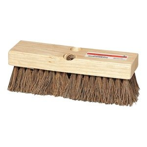 4KNC1 Deck Scrub Brush, Rough Surface, 9 In, By Tough Guy From USA