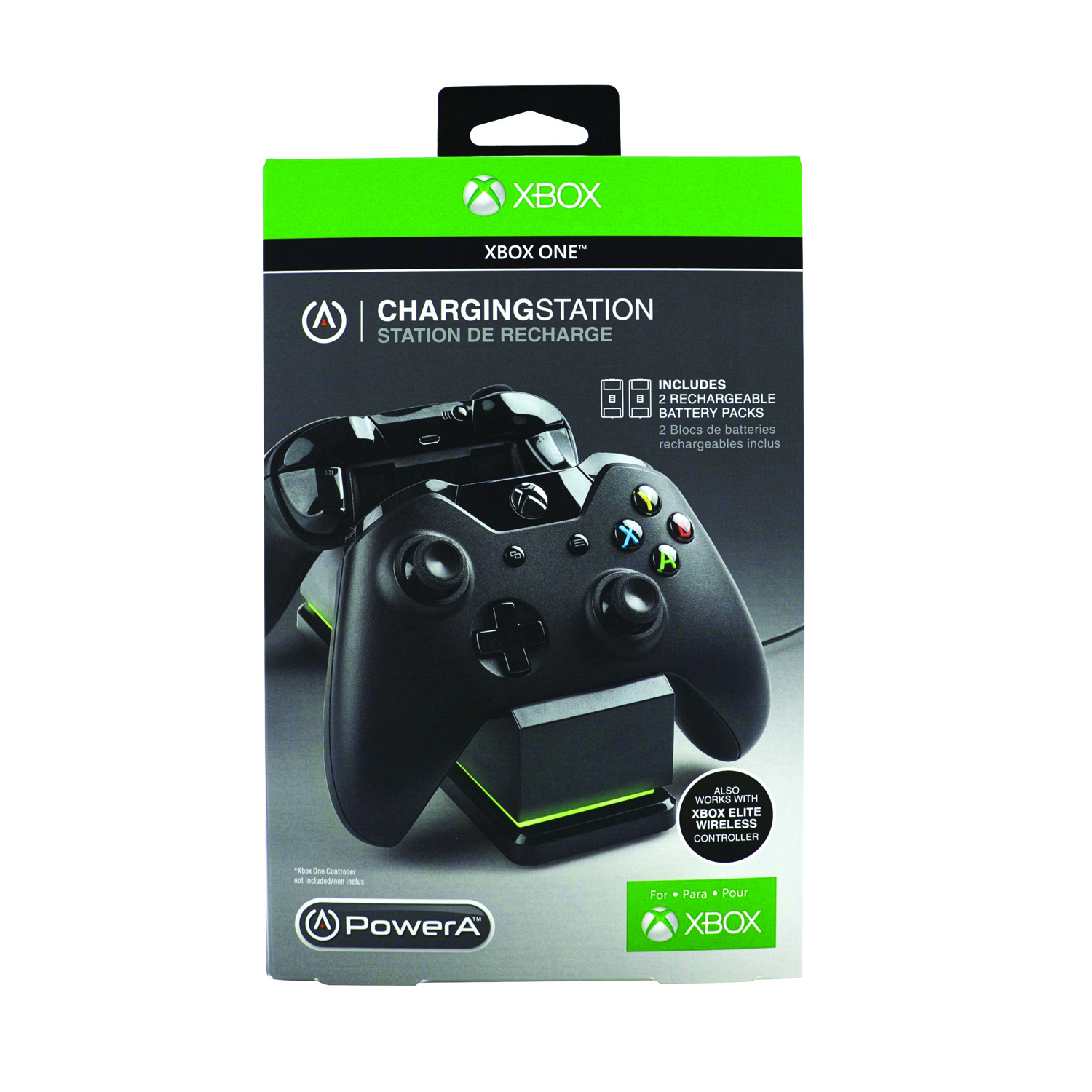 PowerA Charging Station for Xbox One -Black (CPFA114326-02