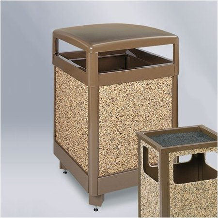 Rubbermaid Commercial Products Aspen 48 Hinged Top